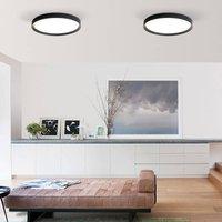 Minsk LED ceiling lamp DALI   60 cm Casambi black