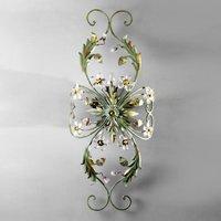 ALESSANDRIA green Florentine ceiling light