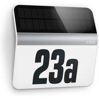 STEINEL XSolar LH-N LED-Hausnummernlampe edelstahl