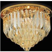 Cristalli ceiling light  45 cm in gold