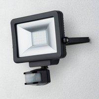 Theben theLeda B20L LED outdoor spotlight  black