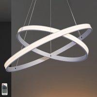 Largo LED hanging light 59 cm diameter  aluminium