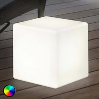 Image of Außendekorationsleuchte LED Shining Cube 33 cm