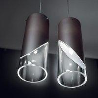 Attractive designer hanging light CAPO CABANA sand
