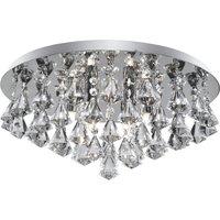 Hanna ceiling light  45 cm  chrome