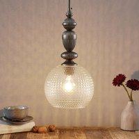 Talisa   pendant lamp  decorative glass lampshade