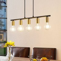 Lindby Peppina dining room hanging light  5 bulb