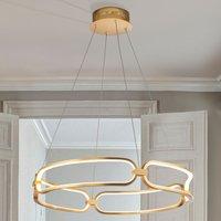 Colette LED hanging light  rose gold