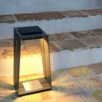 Skaal LED solar lantern  aluminium  sensor  40 cm