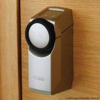 ABUS Z Wave HomeTec Pro door lock drive  silver