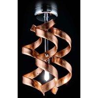 Simple ceiling light Copper