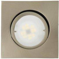 Joanie LED recessed light  brushed iron