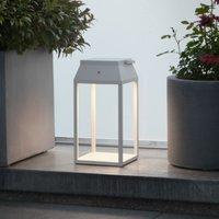 Louis LED solar lantern  white