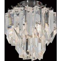Cristalli ceiling light made of lead crystal 18 cm