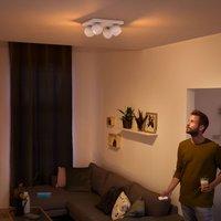 Philips Hue Buckram 4 bulb dimmer switch white