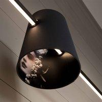 Karman Cupido lampshade   LED linear pendant light