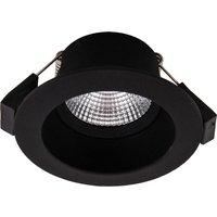SLC One Soft LED downlight dim to warm black
