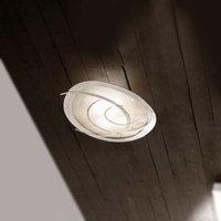 White ceiling light Galassia