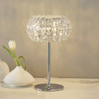 Table lamp DIAMOND with crystals  24 cm