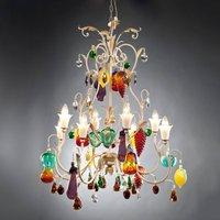 Meldra striking design chandelier eight bulb