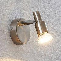 ELC Farida LED spotlight  nickel  1 bulb