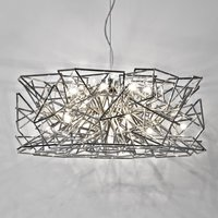 Interwoven Etoile hanging light  16 bulb