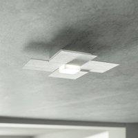 GROSSMANN Creo LED ceiling light brushed aluminium