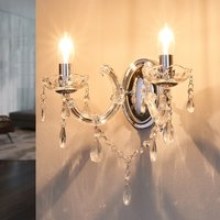 Marie Therese   classic wall light  chrome