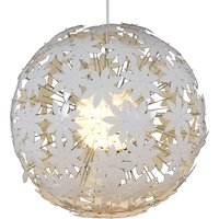 Spherical hanging light YOUNG LIVING  white