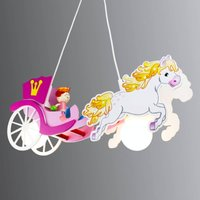Princess hanging light with a horse and carriage