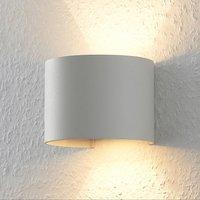 ELC J rdis wall lamp  G9  round  white