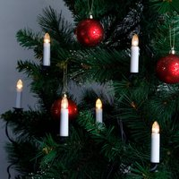 Double strand   candle string lights with LEDs
