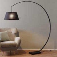Black arc floor lamp Arc