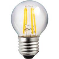 LED E27 G45 4W filamento claro