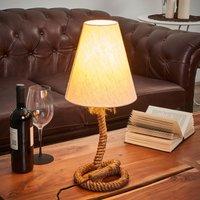 Nautical table lamp Victoria  18 cm
