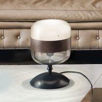 Designer glass table lamp  29 cm