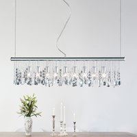 Sparkling Crystal hanging light with 9 bulbs