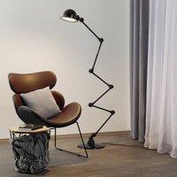 Jield  Loft D9406 floor lamp 6 x 40 cm  black
