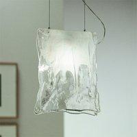 One bulb MURANO hanging light