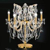 Annino 5 bulb table lamp