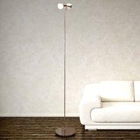 Flexible floor lamp PUK FLOOR  chrome  two bulb