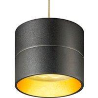 Pendant light Tudor S 9 3 cm high gold leaf