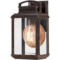 With a vintage look   Lyndon outdoor wall light