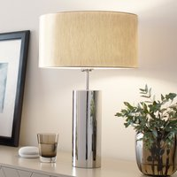 Puristic table lamp Prague  round