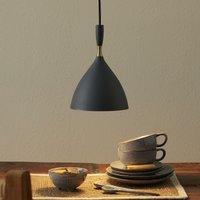 Dark grey hanging light Dokka  made of steel