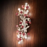 Fiore 6-bulb wall light
