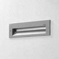 BEGA 33054 LED wall light 3 000 K silver 26 cm