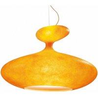 Kundalini E T A  Sat large hanging lamp orange