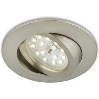 Flexible LED recessed light Erik  matt nickel
