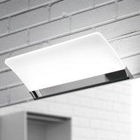 Flat LED mirror light Angela  IP44  16 cm